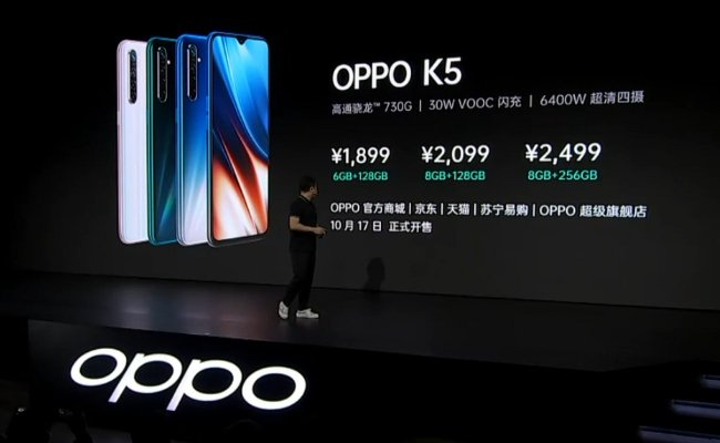 Oppo-K5-Launch-Event