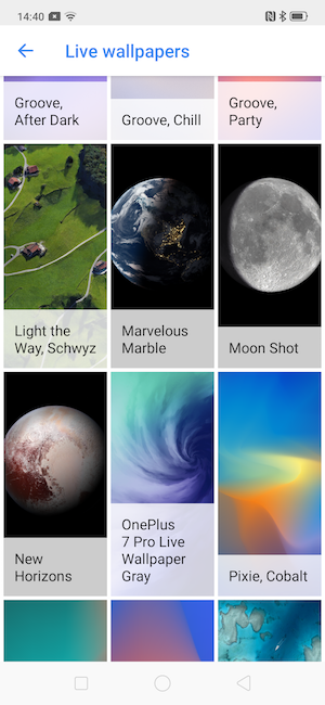 How To Set Live Wallpaper Downloaded Externally On Oppo Reno